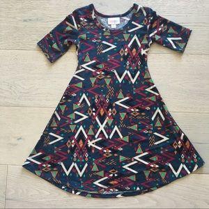 Amazing Lularoe Aztec Adeline Dress